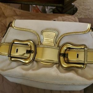 Authentic Fendi Bi Bis Gold creme